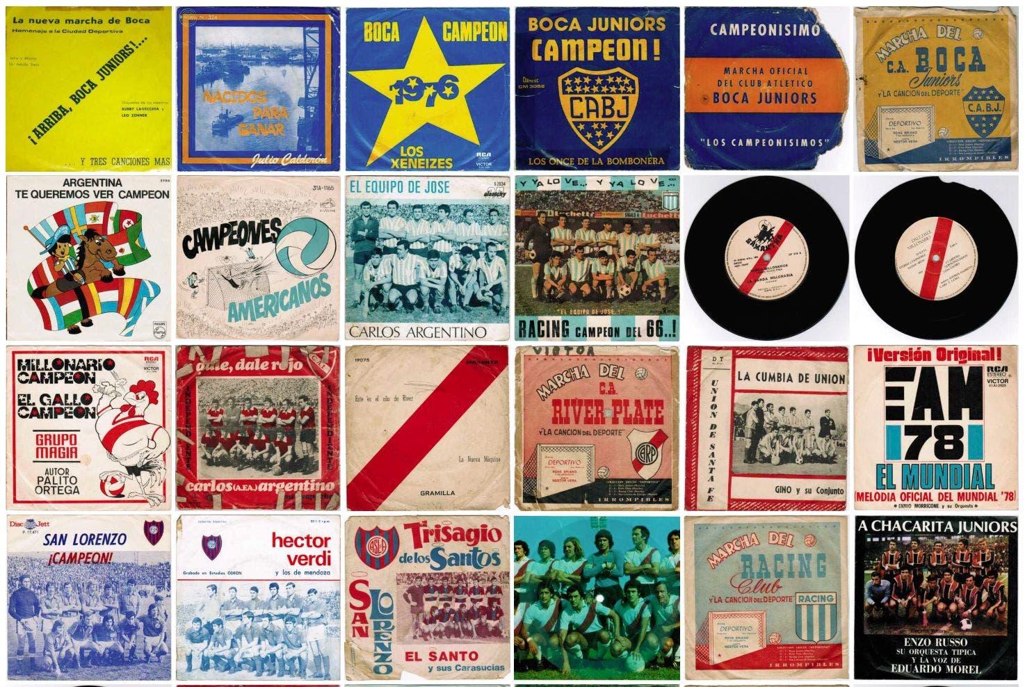 Las canciones del fútbol de todo el mundo (y de otros tiempos) están en la Web