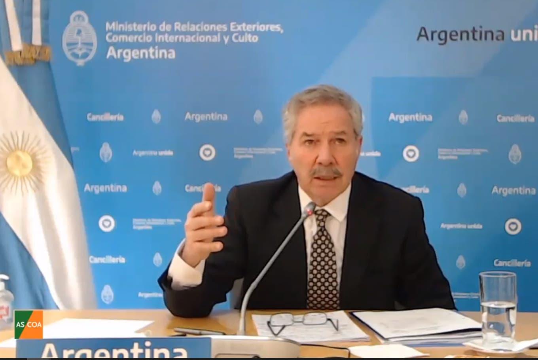 """Felipe Solá, sobre los dichos de Cristina: """"No me vendría mal otro laburo, pero no tengo tiempo"""""""
