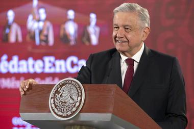 El presidente mexicano Andrés Manuel López Obrador (AMLO)