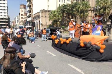 La protesta de los médicos tucumanos en las narices de la Casa Gobierno