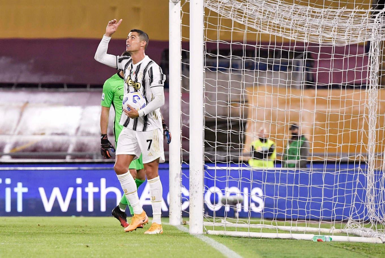 Serie A. Dos goles y récord de Cristiano Ronaldo, que salvó a Juventus de la derrota, y la increíble goleada de Napoli