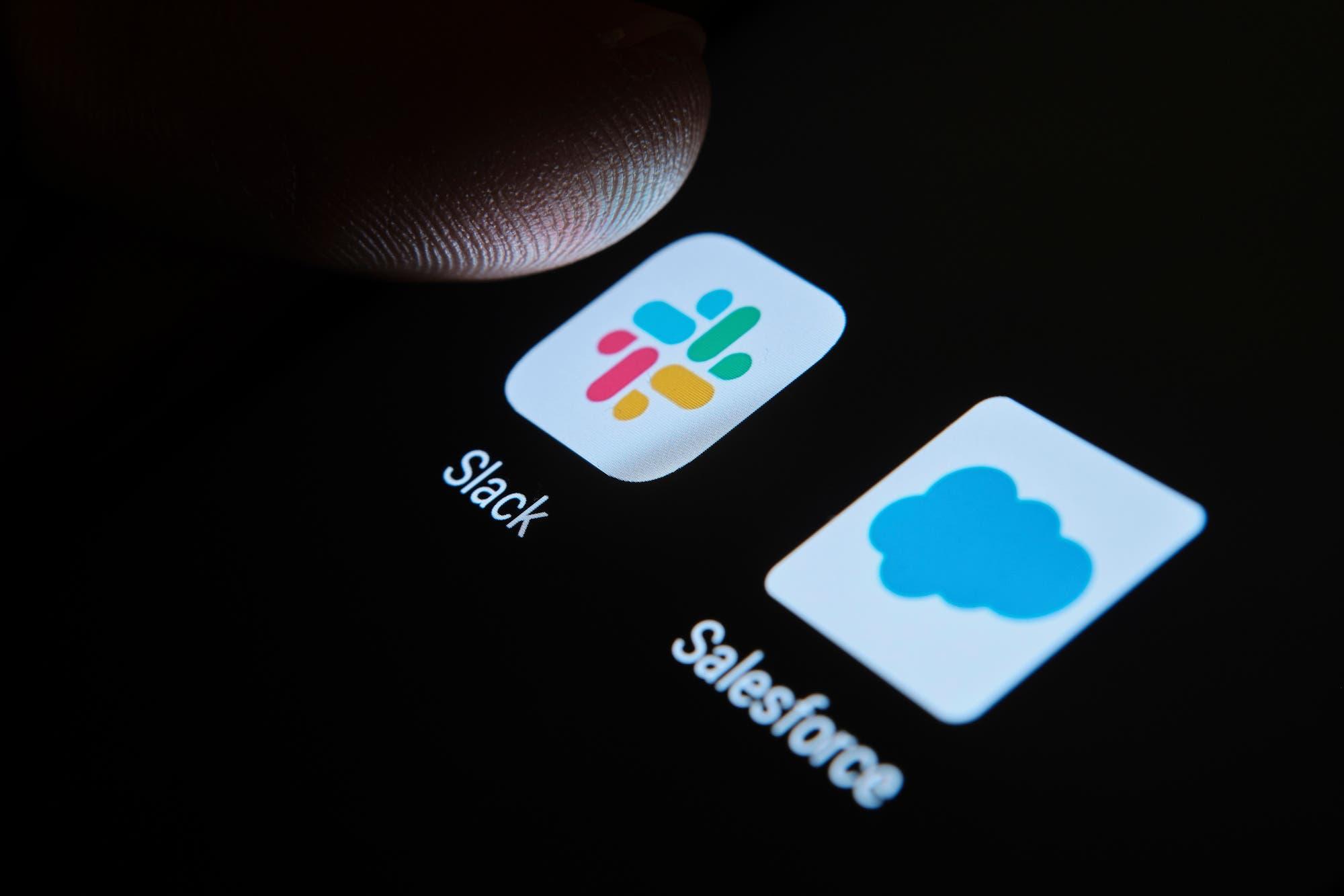 Salesforce compra la plataforma de trabajo colaborativo Slack por US$ 27.700 millones