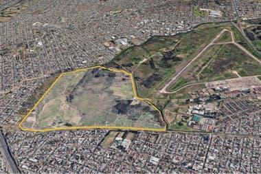 Vista desde Google Maps parece una isla verde en medio un mar de cemento describen a la reserva los vecinos