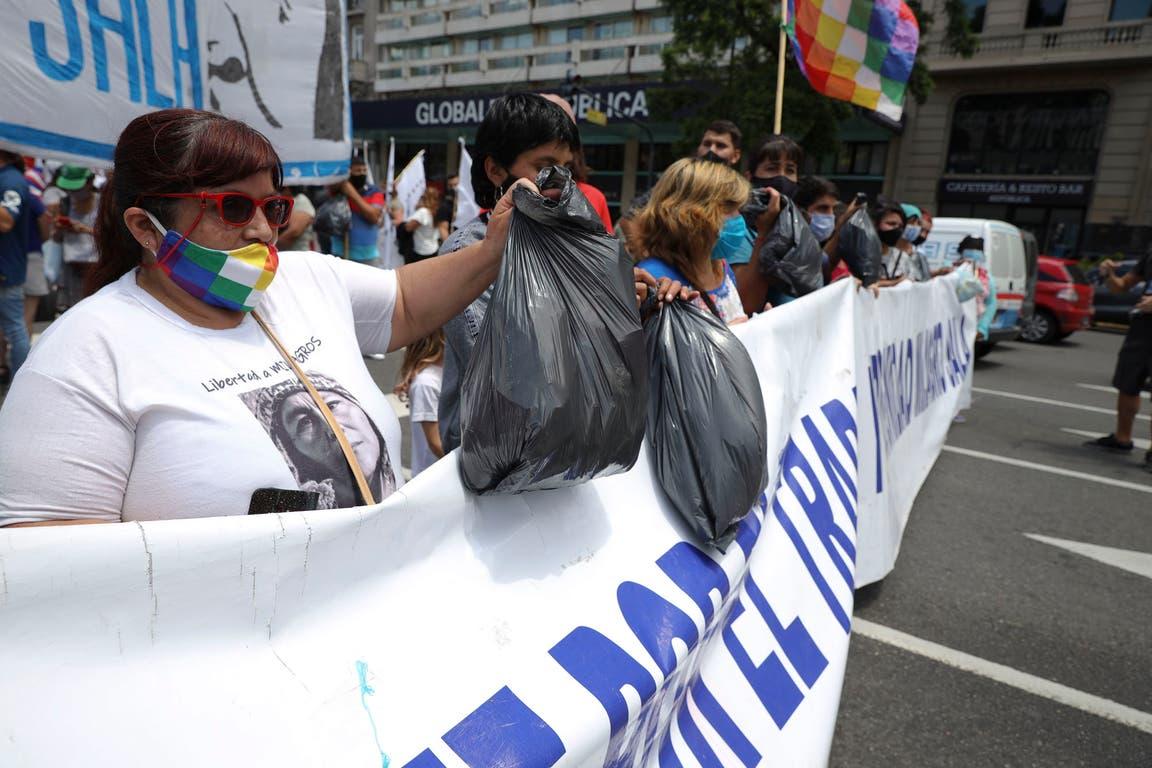 Marcha para pedir la liberación de Milagro Sala a cinco años de su detención