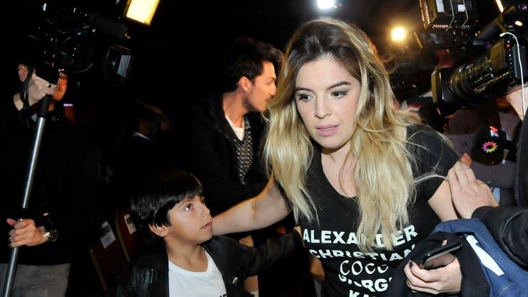 Resultado de imagen para Dalma Maradona enojada prensa
