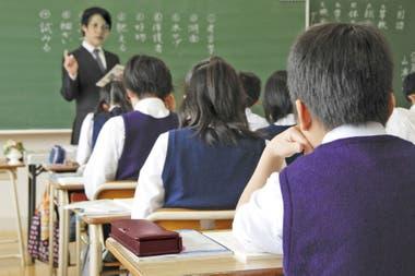 Escuela primaria en Japón