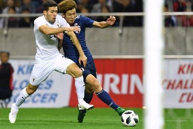 Mayada jugó apenas 27 minutos en la gira de Uruguay por Asia
