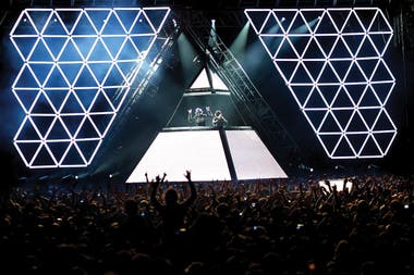 Daft Punk en Buenos Aires, 2006
