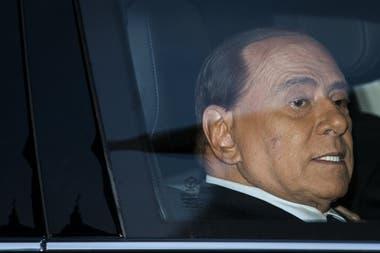 en qué año fue operada la próstata de Berlusconi