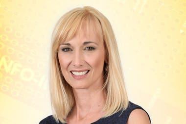 Karin Cohen, una de las caras de la Televisión Pública