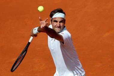 Federer enfrenta a Gael Monfils en Madrid