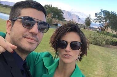 La actriz contó cómo vive el aislamiento con sus hijos y su pareja, Marco Antonio Caponi