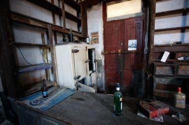 La vieja pulpería, abandonada