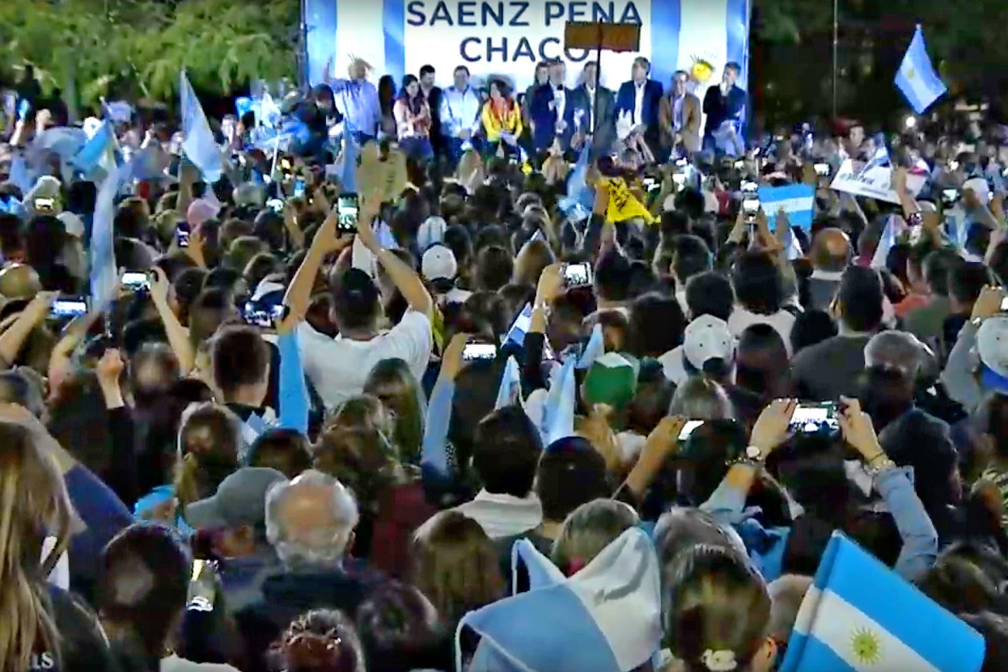 """Mauricio Macri encabeza una nueva marcha del 'Sí se puede', en Chaco: """"No vamos a tener miedo nunca más"""""""