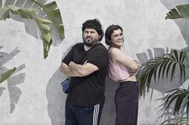 Amaia y Santiago Motorizado