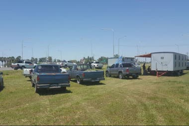 En Las Breñas, Chaco, también hubo concentración de productores