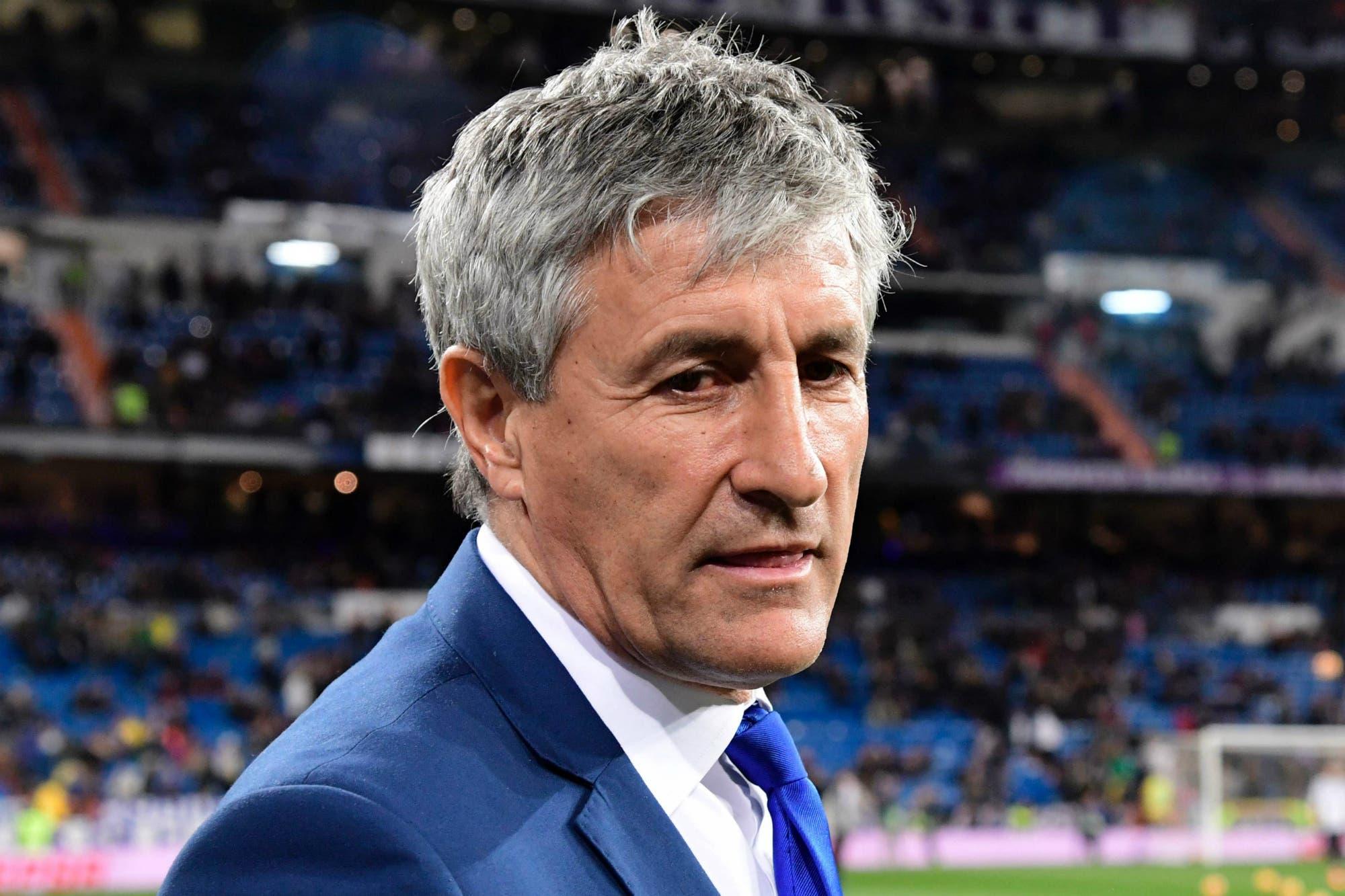 Barcelona: Ernesto Valverde fue destituido y Quique Setién será el DT del equipo de Lionel Messi