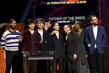 Vampire Weekend recibió el premio a mejor album alternativo de rock. Grammy 2020