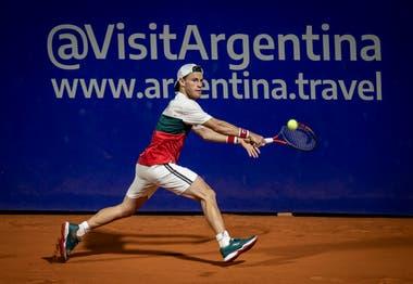 El último partido de Schwartzman fue el 14 de febrero ante Cuevas, en el ATP de Buenos Aires; triunfó y se desgarró.