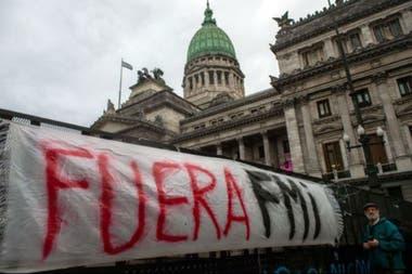 Argentina tiene una historia traumática con el FMI.