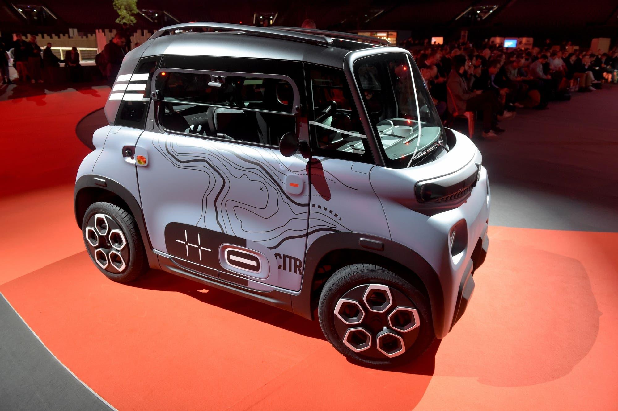 Citroën Ami: debuta en París el auto eléctrico que no requiere licencia de conducir