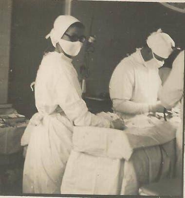 Ilse Buddenberg fue enfermera e insturmentista en la clínica que tenían junto a su marido en Eldorado
