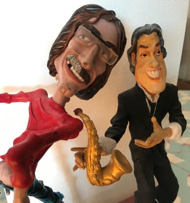 Charly García y Roberto Pettinato