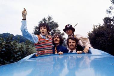 The Beatles en días de Magical Mystery Tour, en 1967