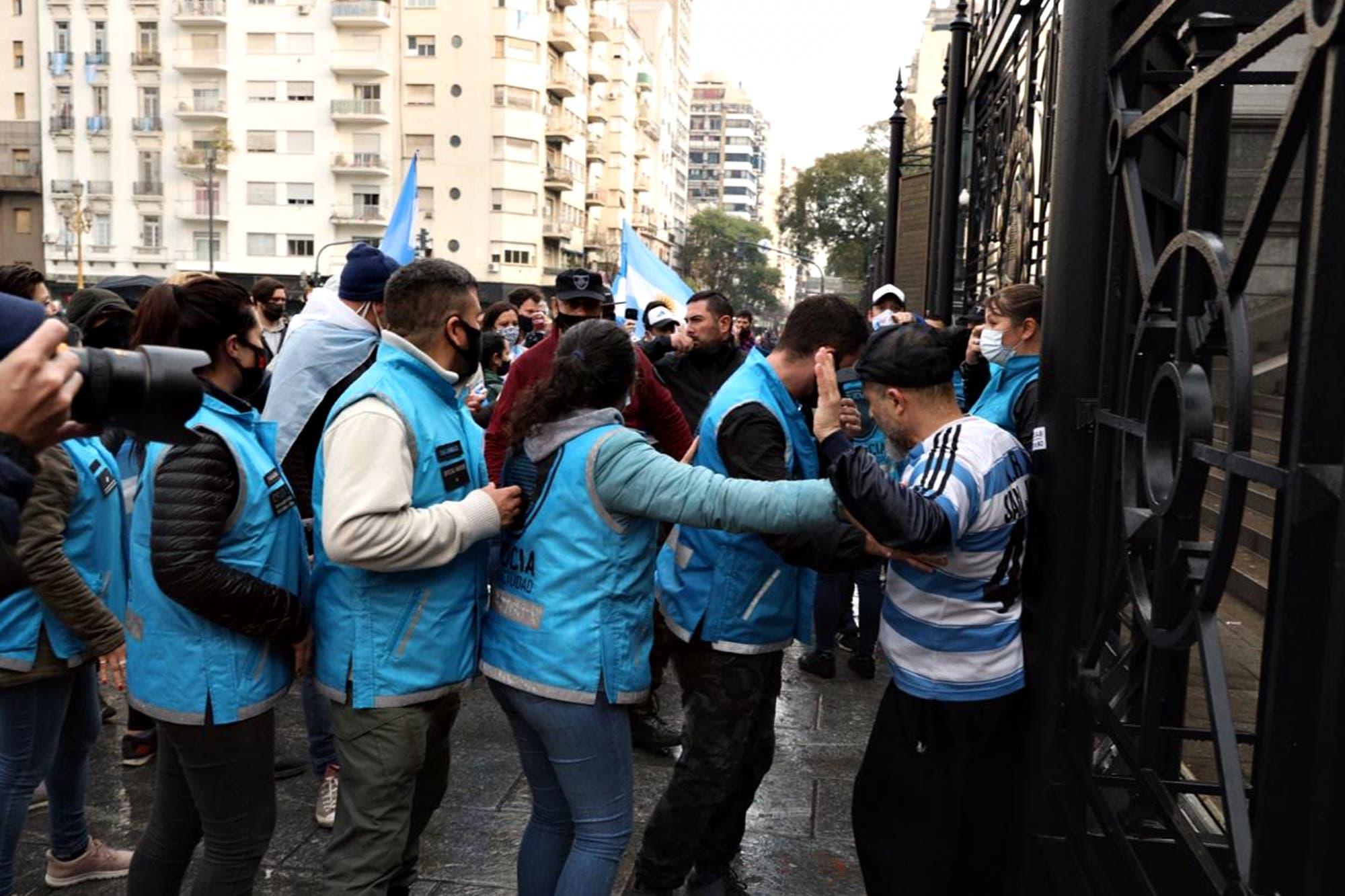 26A. Acampe y protestas contra la reforma judicial en varios puntos del país