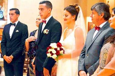 Casamiento de Ramiro con Rocío, con Rogelio de testigo, como no podía ser de otro modo