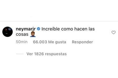 Neymar se sumó a las críticas que apuntaron a Bartomeu