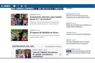 """El diario colombiano El Tiempo destacó """"el ingenio de Mafalda en frases"""""""