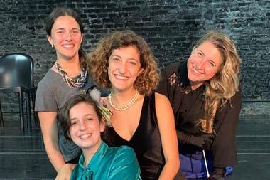 Las actrices de Eternidades, té póstumo en hall de cine, junto con dos artistas invitados harán Eternos musicales argentinos