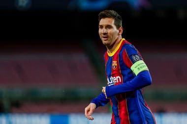 Lionel Messi fue el único jugador de Barcelona que exigió al arquero Buffon en todo el partido.