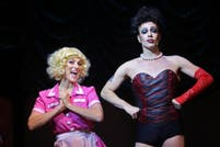 Un ogro y una princesa en The Rocky Horror Show