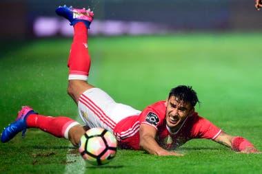 Eduardo Salvio se recupera de su lesión