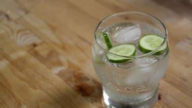 Con rodajitas de pepino, un gin siempre es una buena opción.