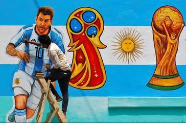Se ultiman los últimos detalles: con Messi como uno de los protagonistas, Rusia recibe desde hoy la Copa del Mundo