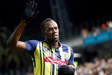 Usaín Bolt se despide del Central Coast Mariners de Australia