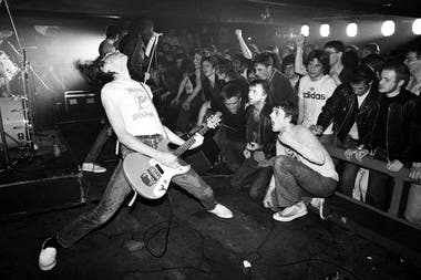 Johnny Ramone en Liverpool, mayo de 1977