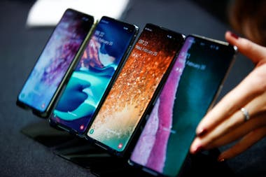 Los nuevos Galaxy S10e (el más pequeño), S10, S10+ y S10 5G