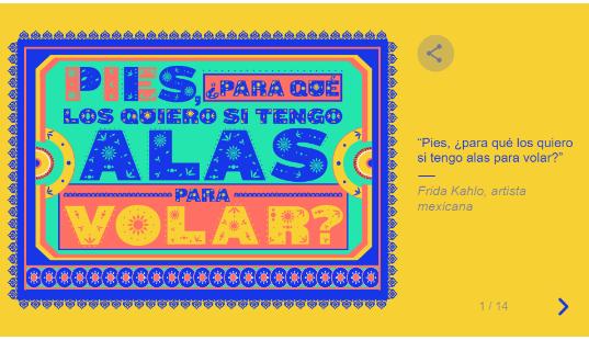 ¡Feliz Día Internacional de la Mujer!: trece frases destacadas en el doodle de Google