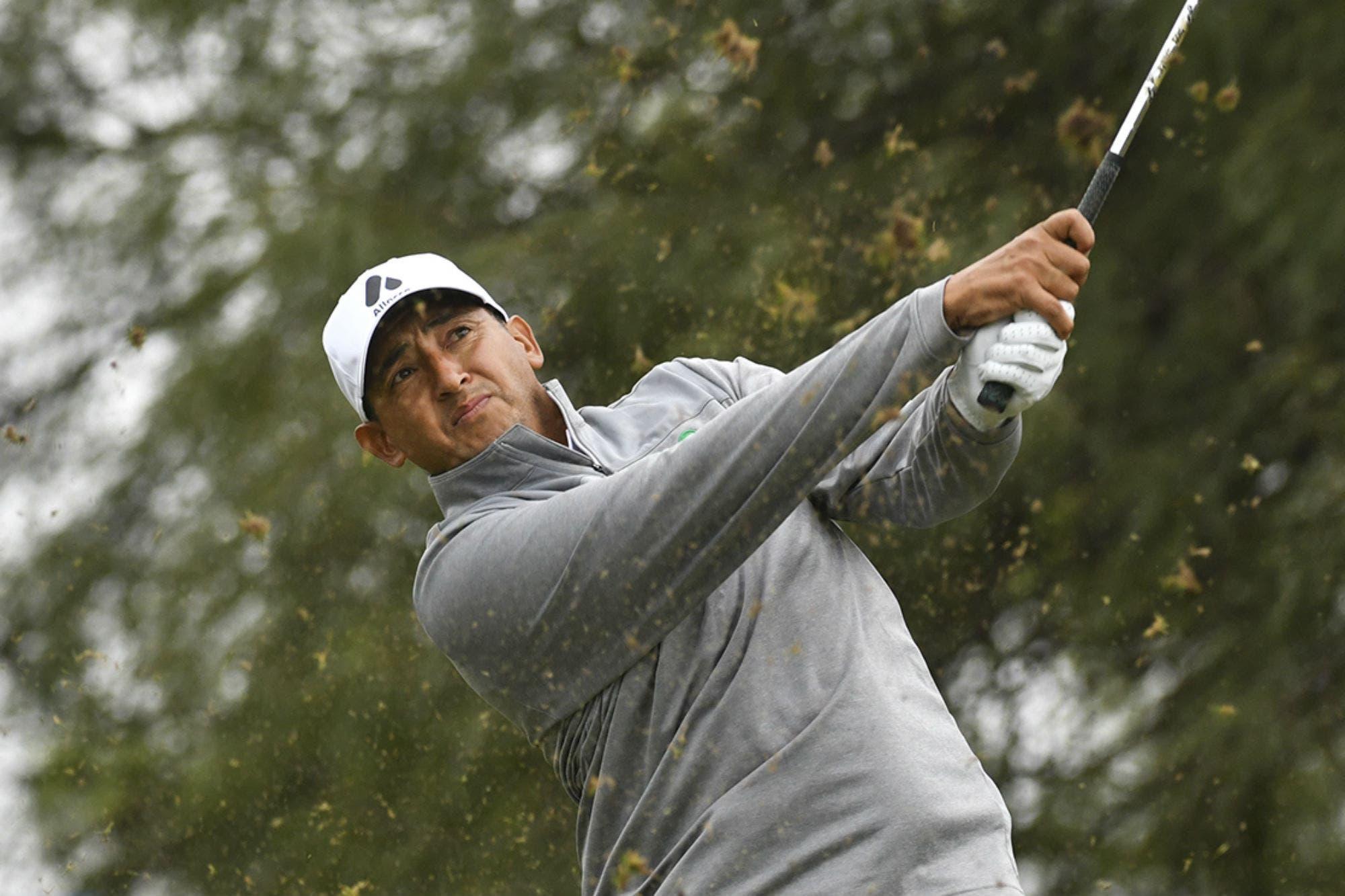 Abierto del Centro: Paulo Pinto lidera en un torneo que tiene que ponerse al día