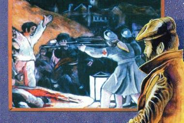 """Para el arte de tapa de Bang Bang, Rocambole trabajó sobre la idea de la obra """"Los fusilamientos del 3 de mayo"""", del artista español Goya"""