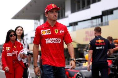 Charles Leclerc, el monegasco firmó con Ferrari las últimas cuatro poles de la F.1