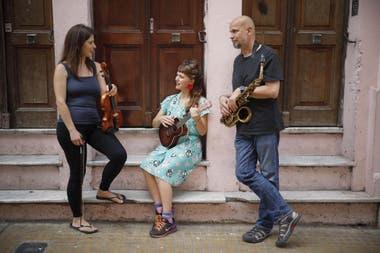 Sophie Lüssi, la británica Damsel Talk y el saxofonista holandés Beek