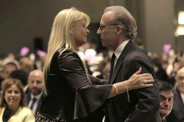 La ministra de Justicia y el presidente de la Corte