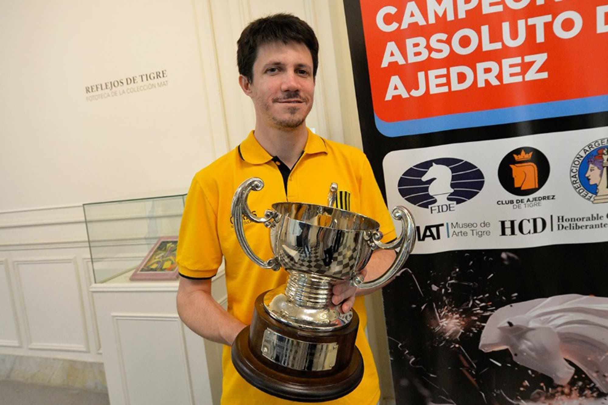 Diego Flores: el ajedrecista versátil y atrevido que ganó el Olimpia de Plata