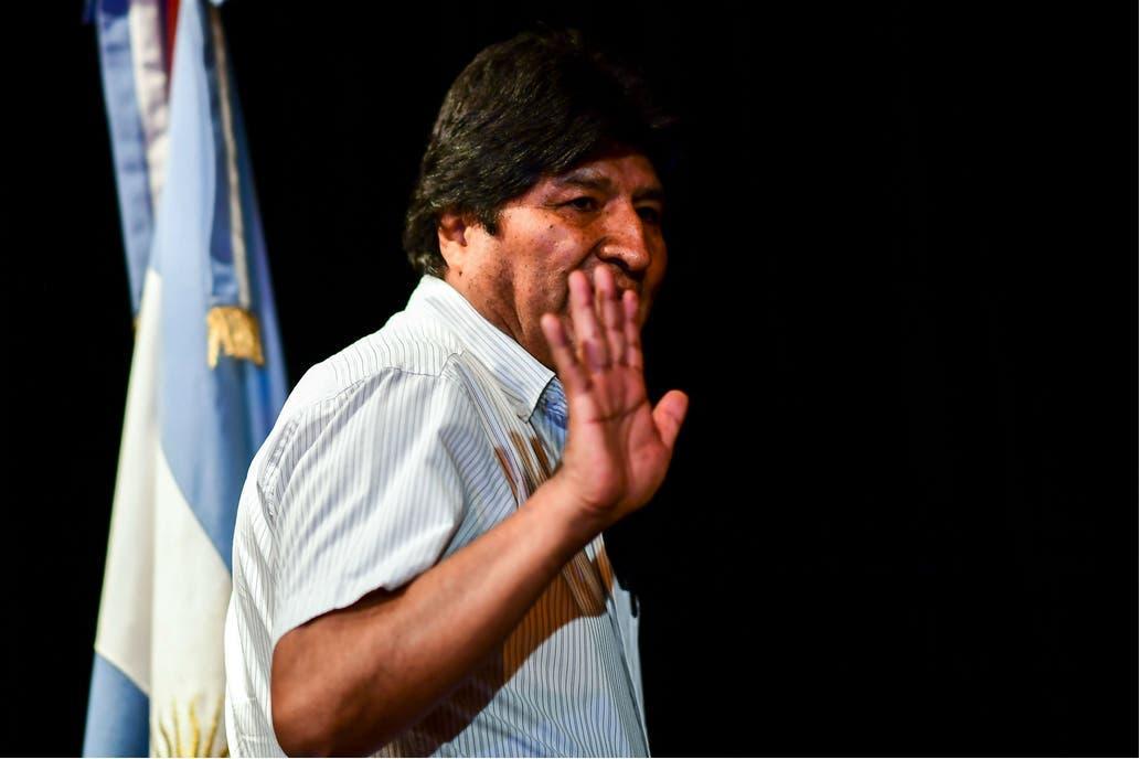 """Evo Morales brindó en Buenos Aires y pidió """"recuperar la Patria"""""""
