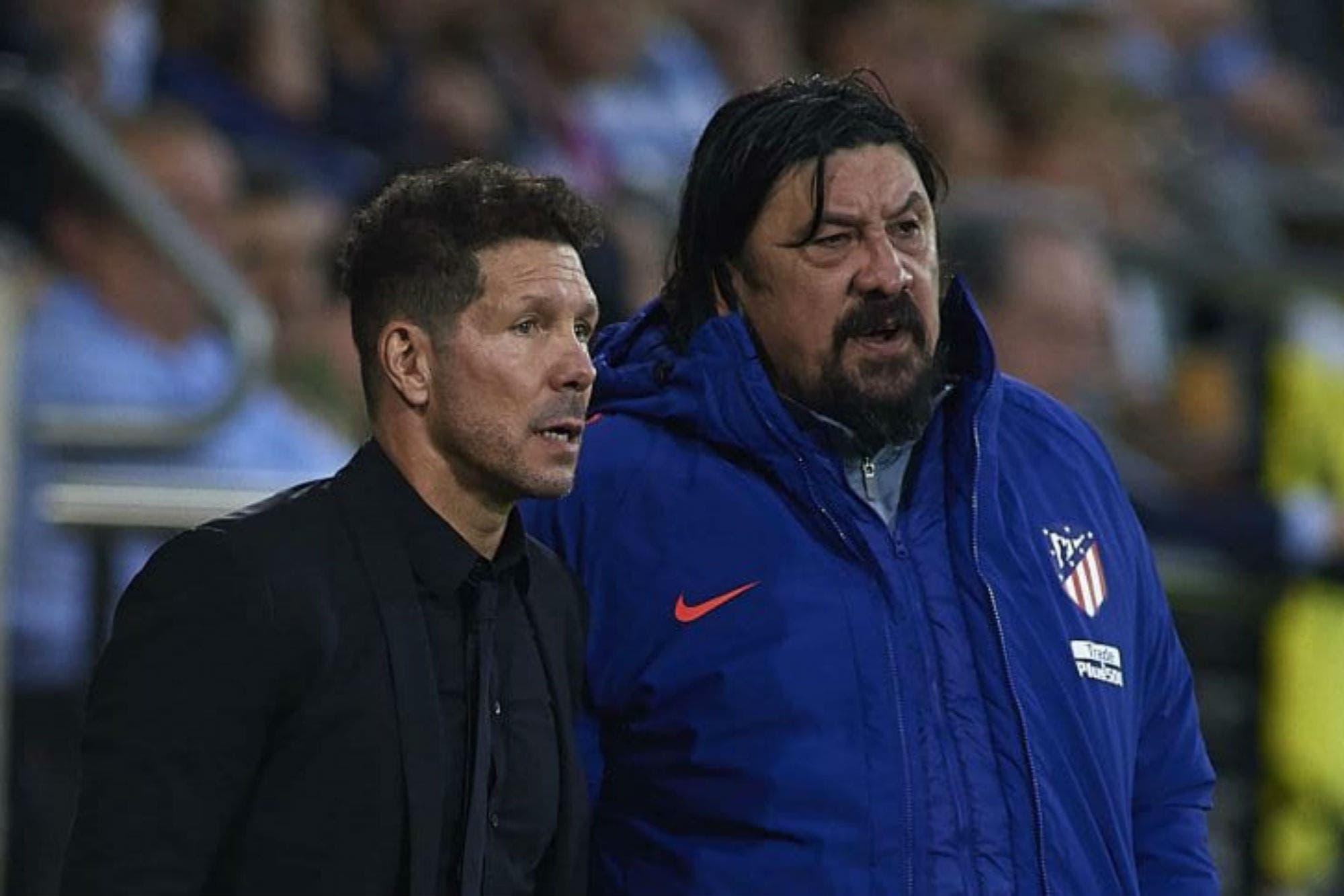 Se separan? El Mono Burgos dejaría de ser ayudante de Simeone en ...
